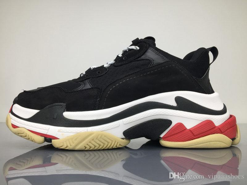 Scarpe Trail Balenciaga SNEAKER TESS S GOMMA Os Scarpe Da Rappresentanza  Atletica Più Trendy Top Quality New Color Triple S Sneakers Uomo   Donna Scarpe  Da ... c81356fc706