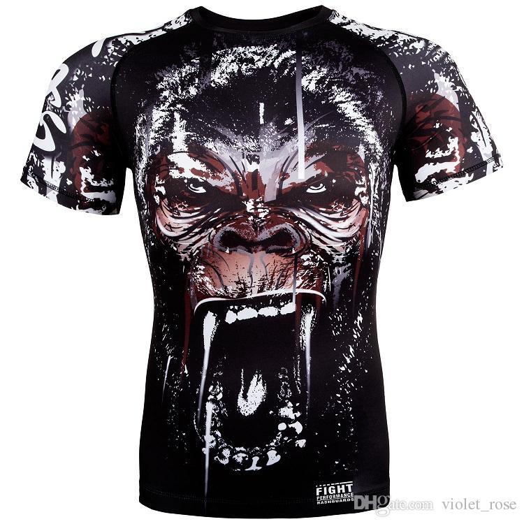 Combat Outan Fitness Sport Shirt Mma Orang Anger Mixte T Acheter 0OkPwn8