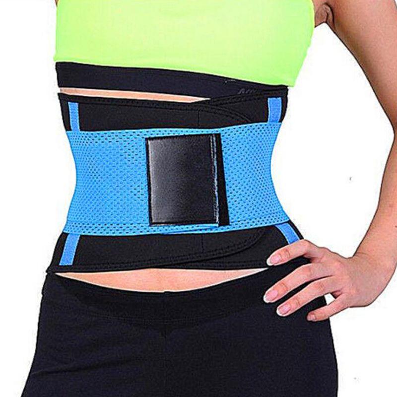 78bdb7341d 2019 2018 New Women S Fitness Waist Cincher Waist Trimmer Corset Ventilate  Adjustable Tummy Trimmer Trainer Belt Weight Loss Slimming Belt From  Onlinesky