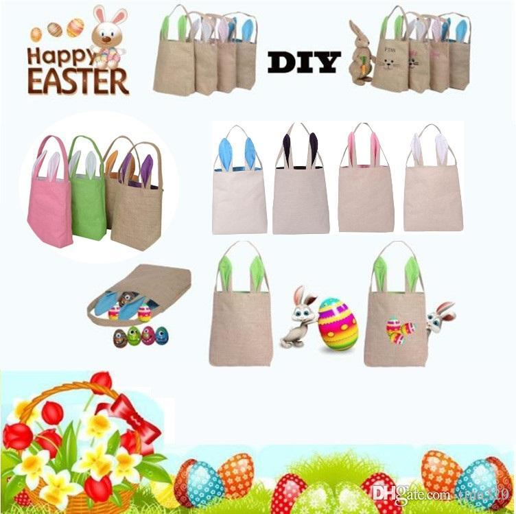 2018 new easter gift bag classic rabbit ears cloth bag put easter 2018 new easter gift bag classic rabbit ears cloth bag put easter eggs for kids easter sunday decoration bags party supplies 1726 from tina329 negle Images