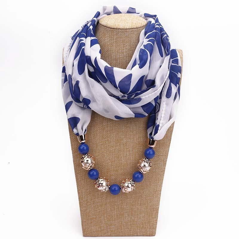 Beads pendeloque jewelry scarves pendants scarf printing chiffon beads pendeloque jewelry scarves pendants scarf printing chiffon necklace scarf pendants heart scarfs design factory cost wholesale scarf pendants heart aloadofball Choice Image