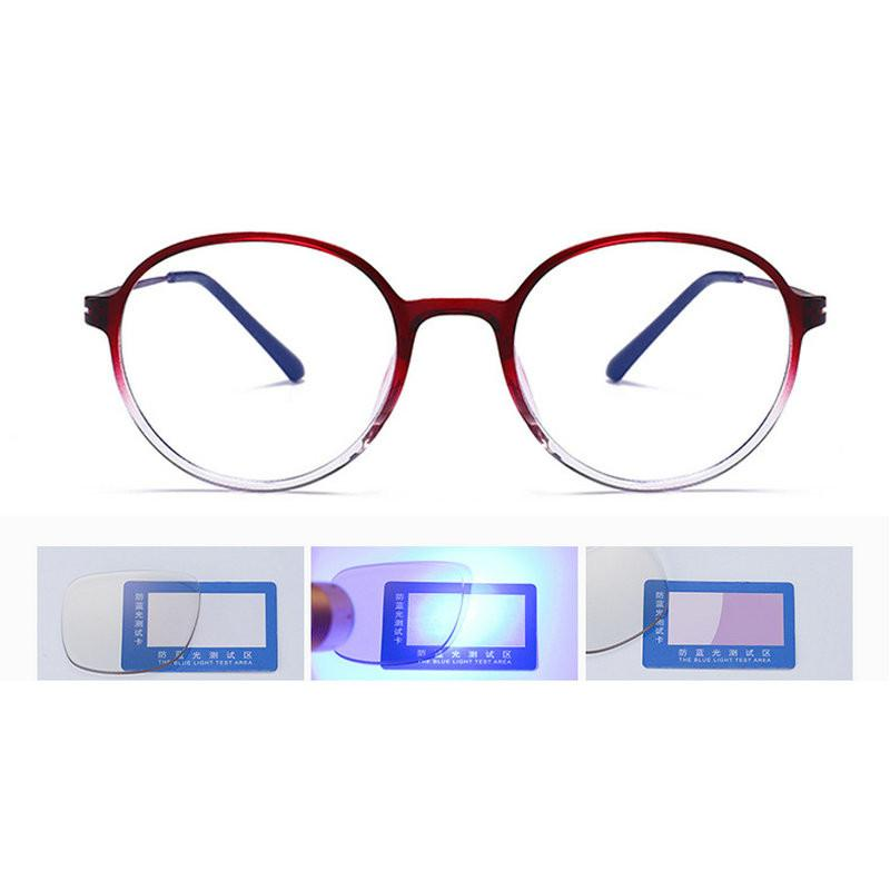 2b4a281bb6 2019 MINCL 2018 Fashion New Round Glasses With Blue Light Blocking Clear  Lens Optical Anti Blue Eye Glasses Frame For Men Women FML From Harrieta