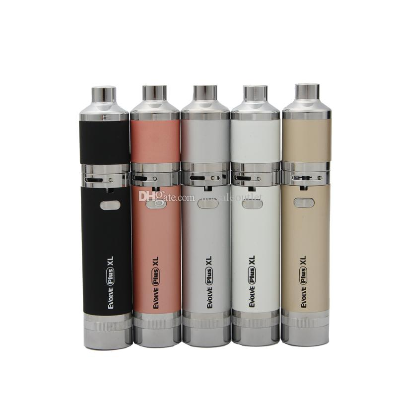 Authentique kit stylo bille cire Dab Vape Yocan Evolve Plus XL, batterie 1400mAh avec bobine QUAD, double compartiment intégré détachable 100% d'origine
