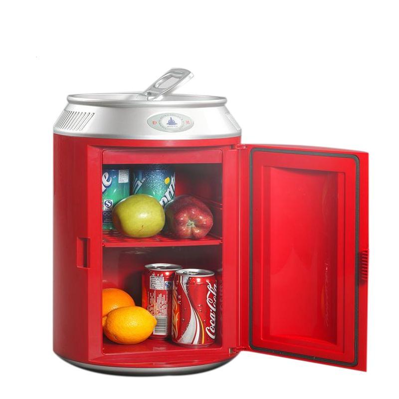 11L Canned Mini Fridge Auto Freezer Portable Refrigerator Cooler Heater Car  Home Daul Use Fridge Household Icebox Refrigerators Cheap Refrigerators 11L  ...