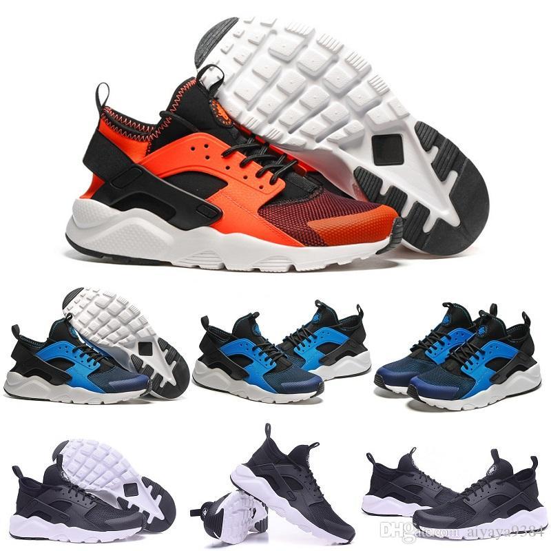 wholesale dealer 17fcb aebc2 Acquista Nuovi Colori Huaraches 4 Iv Casual Scarpe Uomo Donna, Alta Qualità Air  Huarache Correre Ultra Traspirante Mesh Cuscino Sneakers Eur 36 45 A  72.98  ...