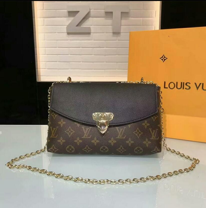 ffde3c17a2c0 2018 Chain Handbag Famous Designer Brand Name Fashion Leather ...