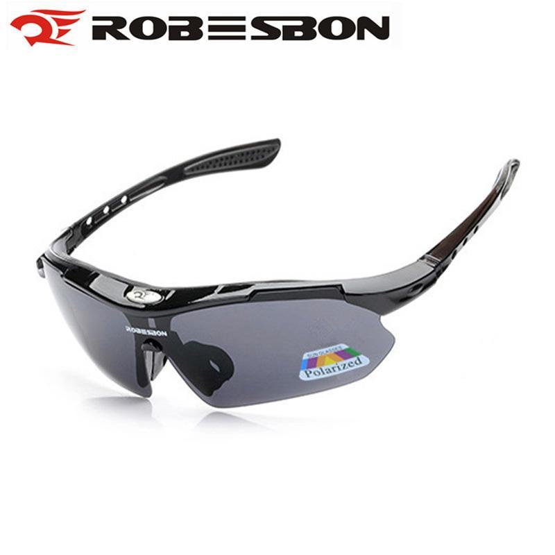 4a0ce6667c Robesbon Polarizado UV400 Bicicleta Ciclismo Gafas Al Aire Libre Deporte  Gafas De Sol Hombres Bicicleta Gafas Ciclismo Oculos De Masculino Por  Superfeel, ...