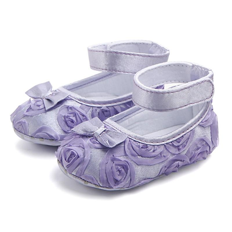 ac196c860ff70 2019 New Soft Sole Kids Baby Girl Shoes Anti Slip Cotton Toddler Infant  Newborn Prewalker Girls Flower First Walkers 0 24 Months Z31 From Bradle