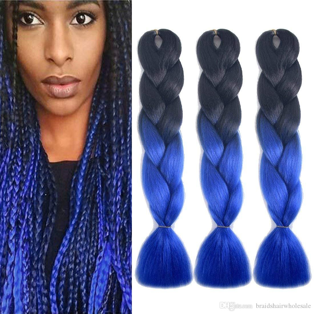 Xpression Ombre Braiding hair Kanekalon Synthetic