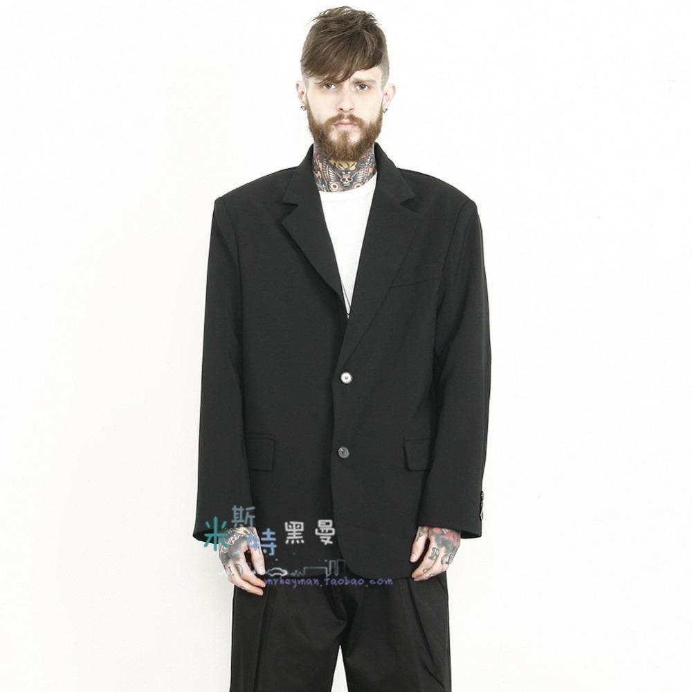 Compre S ~ 5XL !!! 2018 Nuevos Hombres De La Moda Gran Código Traje Suelto  De Gran Tamaño Retro Gran Traje Chaqueta Masculina Tallas Grandes Trajes A  ... e227ca6ec5e