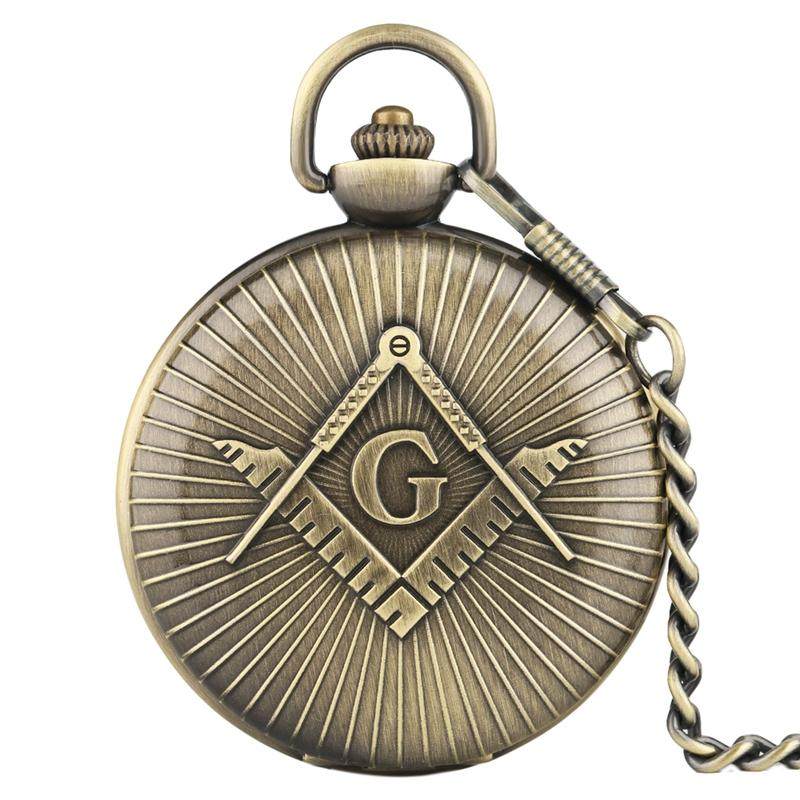 59e690149 Luxury Big Size Men'S Pocket Watch Good Antique Big G Freemasons Four  Colors Are Available Quartz Pocket Watch Gifts For Men Digital Pocket Watch  ...