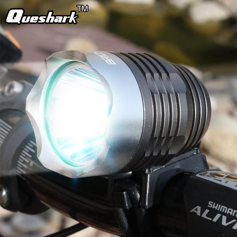 Waterpoof Bike Accessories Bicycle Front Light Headlamp Night Safety Riding Cycling Warning Lamp MTB Mountain Bike Headlight
