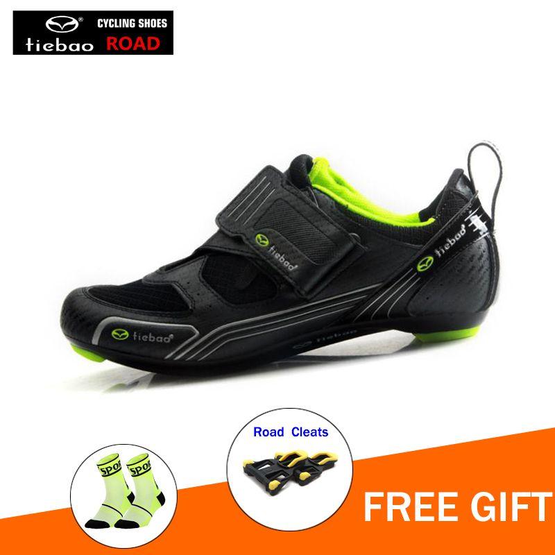 fb2c891d5531b9 Scarpe Ciclismo Vittoria TIEBAO Outdoor Road Cycling Shoes Spinning Class  Bike Scarpe Triple Cinghie Compatibile Con Zapatilla Ciclismo Outdoor  Racing ...