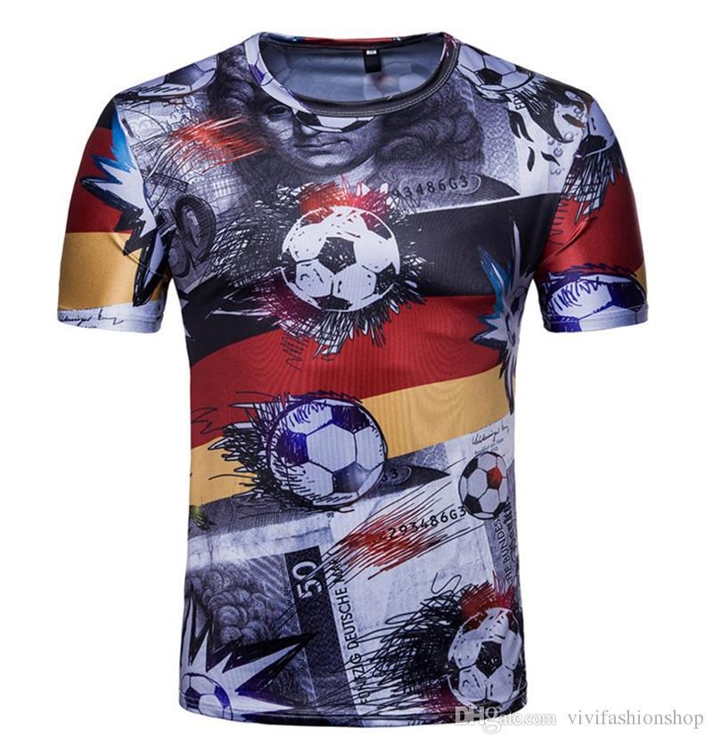 2d2182969ba 2018 World Cup Soccer Jersey T Shirt Mens Designer T Shirts Men RUSSIA  BRAZIL Fans Team T Shirt DH142 Awesome Tee Shirts Teet Shirts From  Vivifashionshop