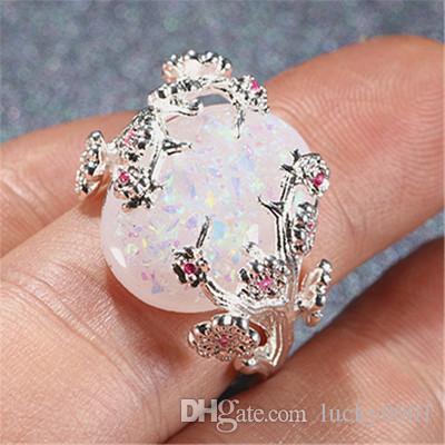 2018 neue Luxus Baum des Lebens Australian Fortune Glücklichen Göttin Ring Mode Persönlichkeit Trend Sommer Dame Ring Großhandel