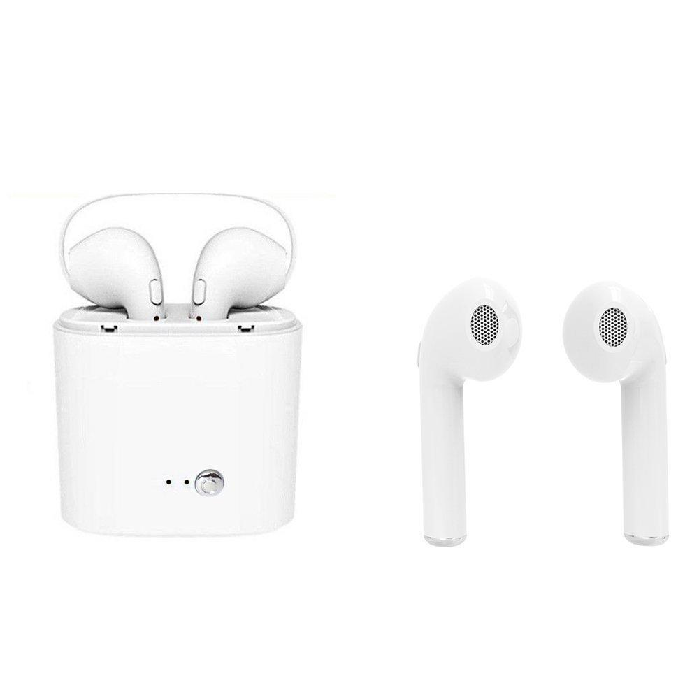 c046367c721 Wireless Bluetooth Headset 2018 New I7S Wireless Bluetooth Earphone Stereo Earbud  Headset Headphone For IPhone X 8 7Black,White Best Wireless Earbuds ...