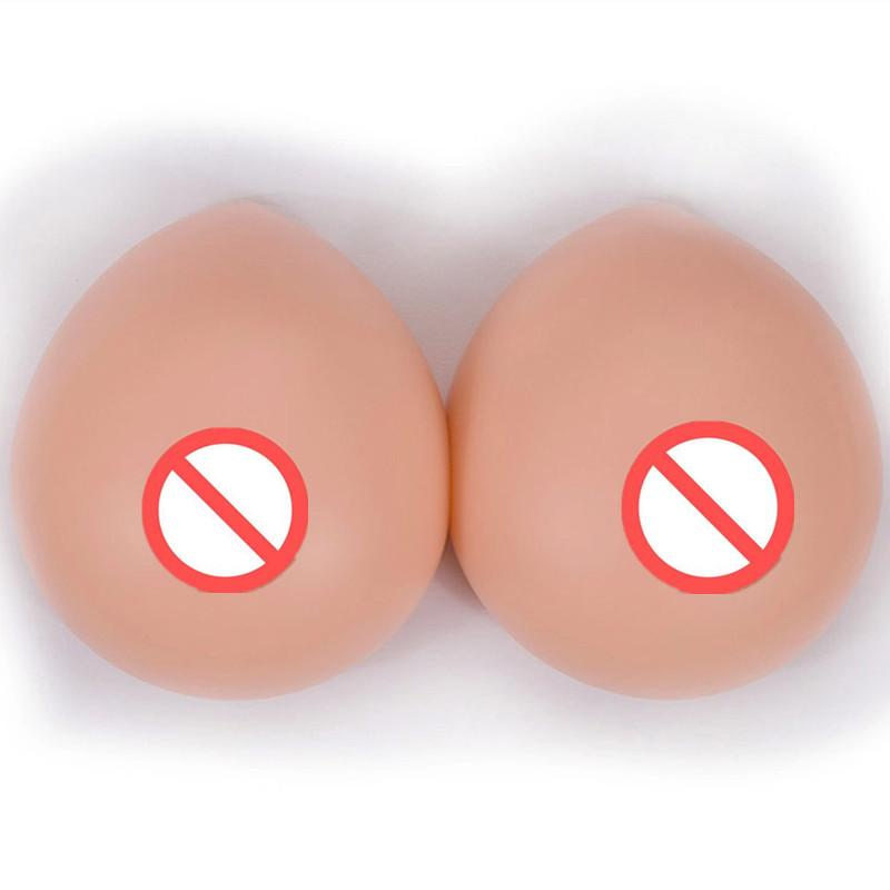 Water drop Silicone fake false Breast Forms Insert Bra Mastectomy Artificial Breast for Cross dresser Fake Breast