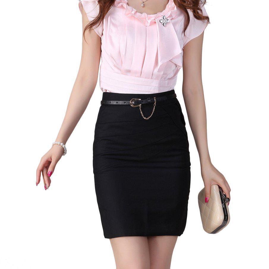 2019 High Waist Women Office Skirts Pencil Skirts Casual Sexy Slim Skirt  Back Split TS From Sendit 09e2add71e5