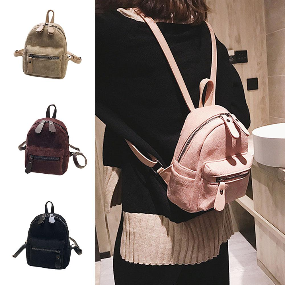 SFG HOUSE Women 2018 Cute Backpack For Teenager Girls Children Pink Mini  Backpack Kawaii Girls Small Backpacks Female Packbags Messenger Bags Leather  ... 513aa89574fb7