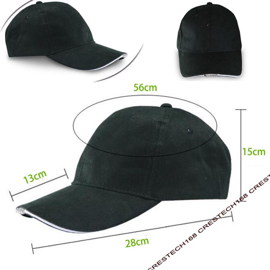 Cappello berretto da baseball a LED cappello da 5 LED a mani libere jogging da esterno, campeggio, escursionismo, festa hip-hop, pesca