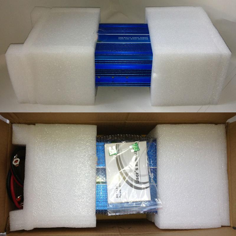 5000 W netzunabhängiger Wechselrichter, 12 V / 24 VDC, 100/110/120 VAC oder 220/230/240 VAC, reiner Sinus-PV-Wechselrichter für Wind- oder Solarstromanlagen