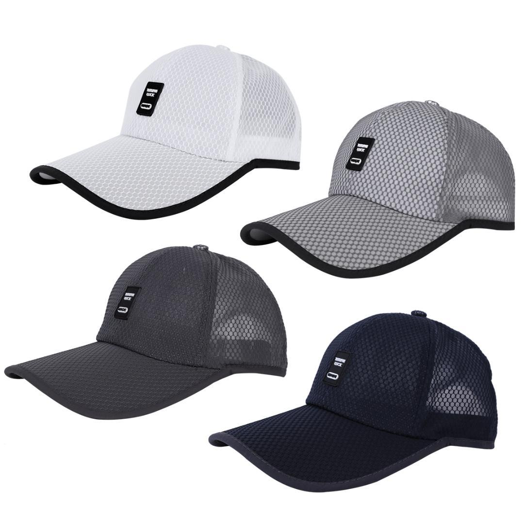 080a8c5d348 2019 Breathable Quick Dry Golf Hat Men Women Adjustable Ponytail Caps  Fishing Cap Sports Leisure Honeycomb Mesh Surface Cooling Hats From  Cutport