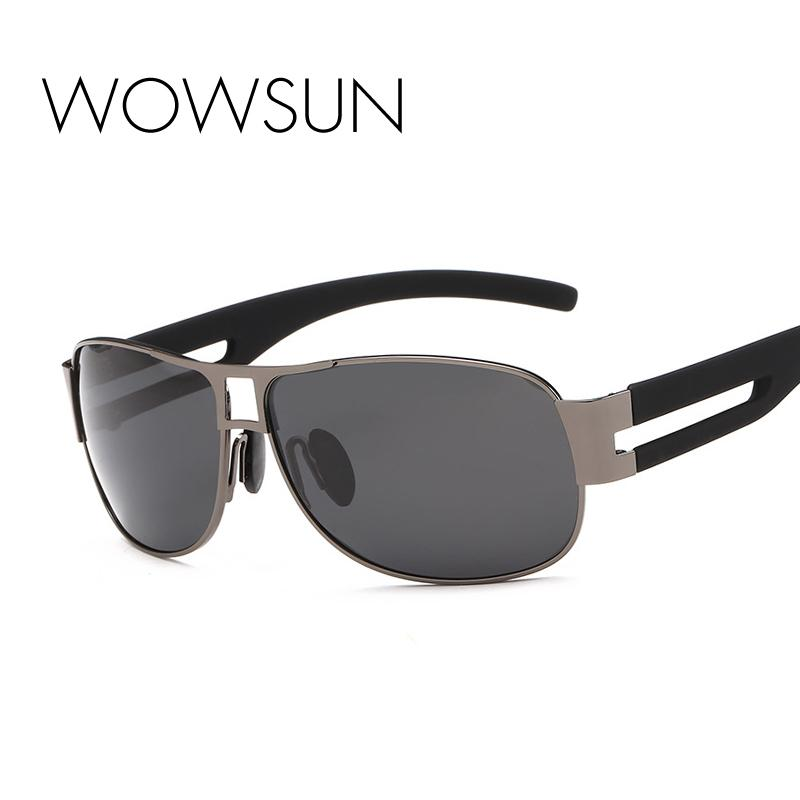 b01387b18a WOWSUN Brand Designer Men S Polarized Sunglasses Alloy Frame Four Seasons  Driving Sunglasses UV400 A10 Vuarnet Sunglasses Bifocal Sunglasses From  Haoyunduo