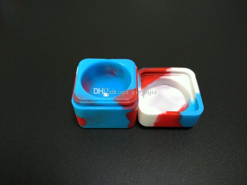 Contenitore non ceramico del contenitore della polvere dei vasi di vetro di Dab del commestibile