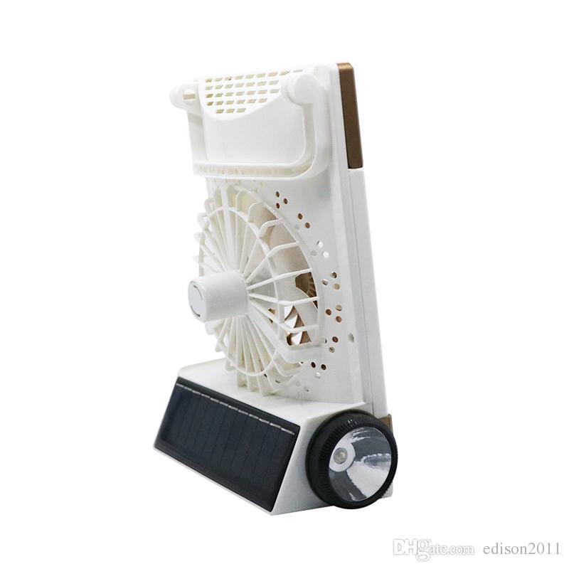 Edison2011 многофункциональный Портативный мини солнечный свет мини Солнечной аккумуляторная вентилятор 30 светодиодов с фонарик аккумуляторная лампа