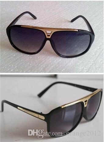 Высокое качество бренда солнцезащитные очки доказательства солнцезащитные очки дизайнер очки очки мужские женские полированные черные солнцезащитные очки поставляются с футляром случае