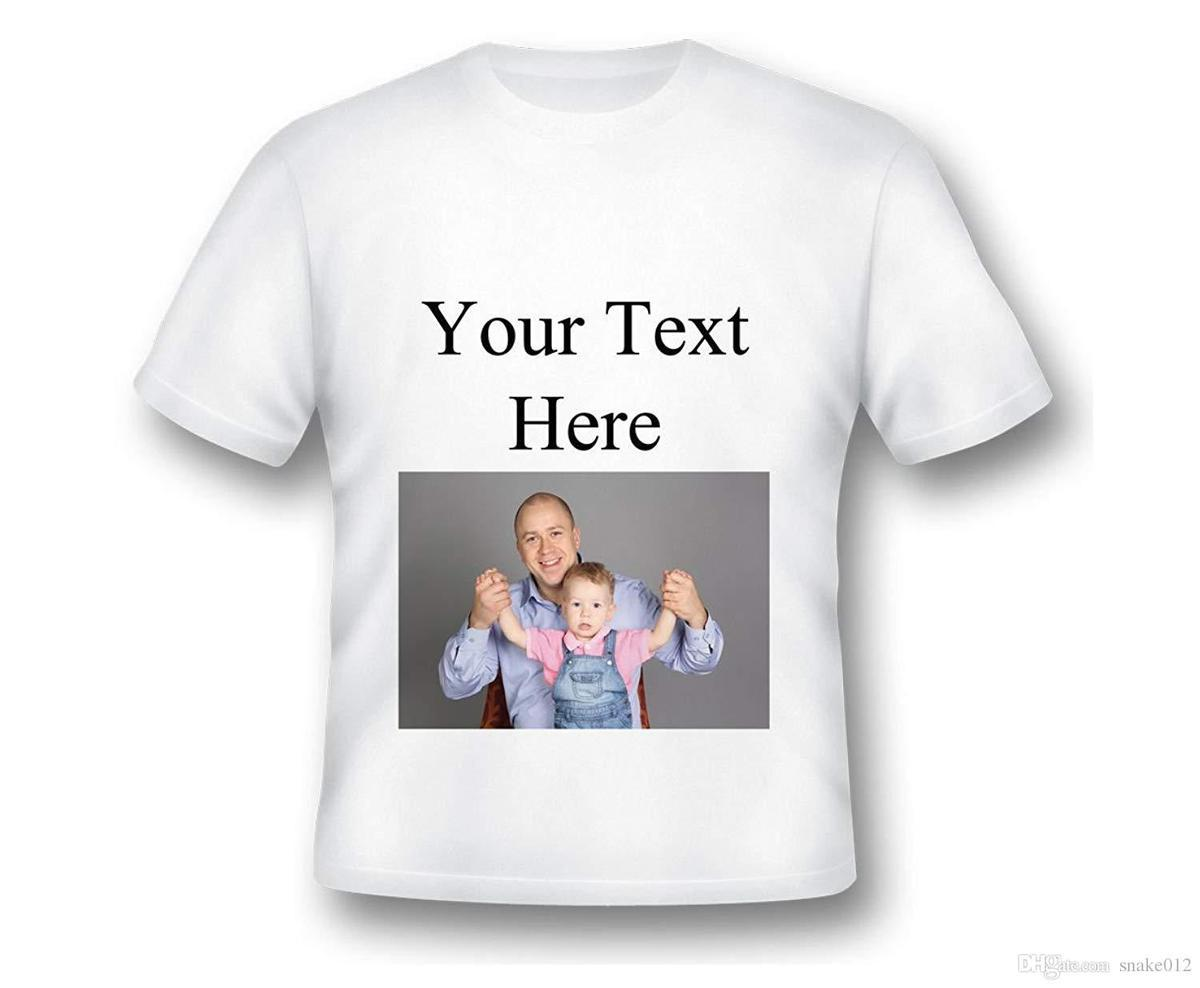 Personalized Custom T Shirt Add Your Own Text Personalized