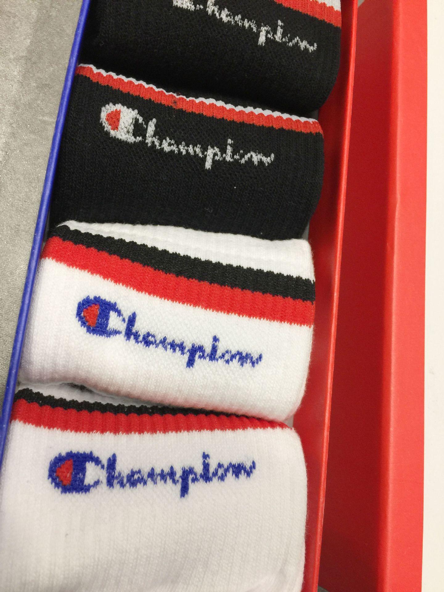 7c1359d6cc9 2019  Box Champions Brand Socks Stockings For Men And Women Fashion  Designer Antibacterial Cotton Luxury Brand Unisex Long Sport Socks From  Outdoor 888