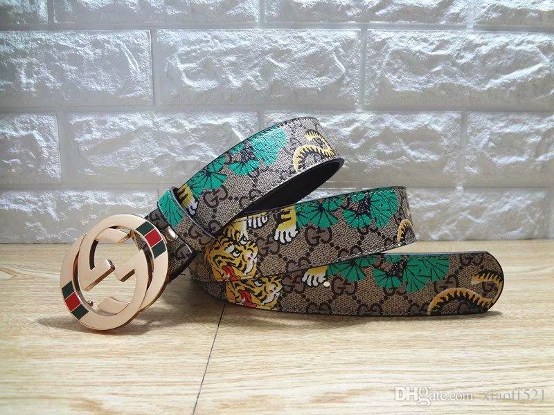 94c58dad Luxury Brand Designer Belts for Men Aolly Smooth Buckle Designer ...