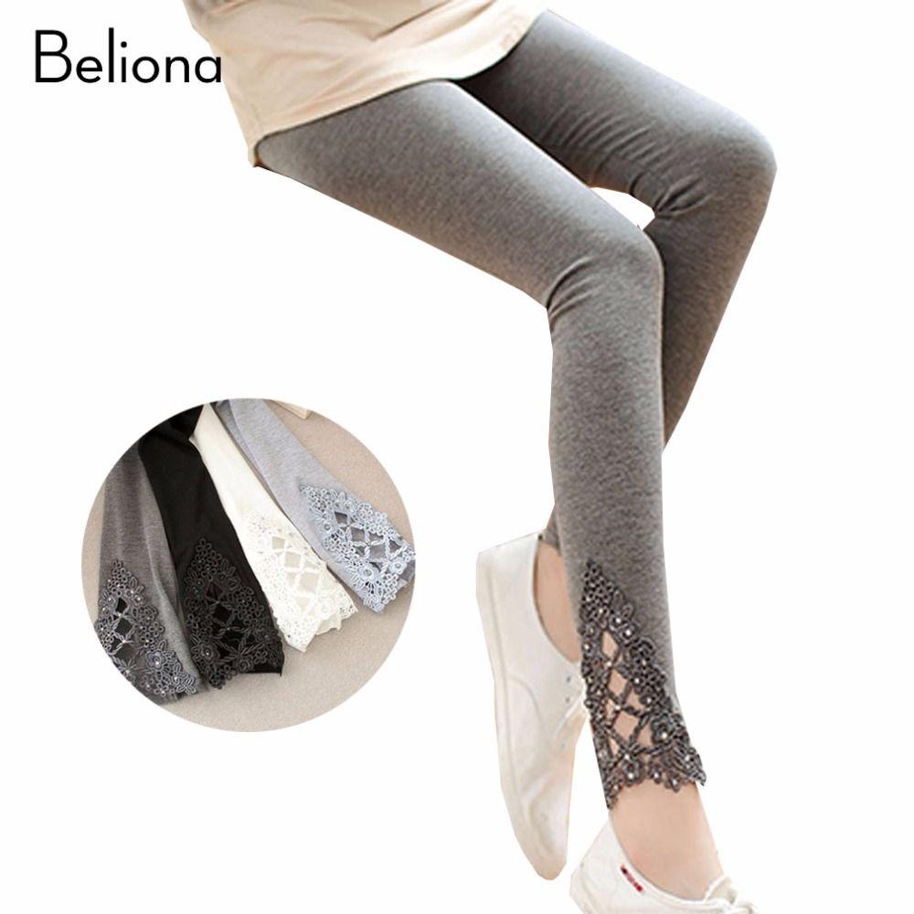 3fa1c5220a Compre Coon Maternidad Polainas Para Mujeres Embarazadas Cintura Alta  Embarazo Legging Pantalones Lápiz Para Otoño Primavera Ropa De Maternidad A   23.75 Del ...