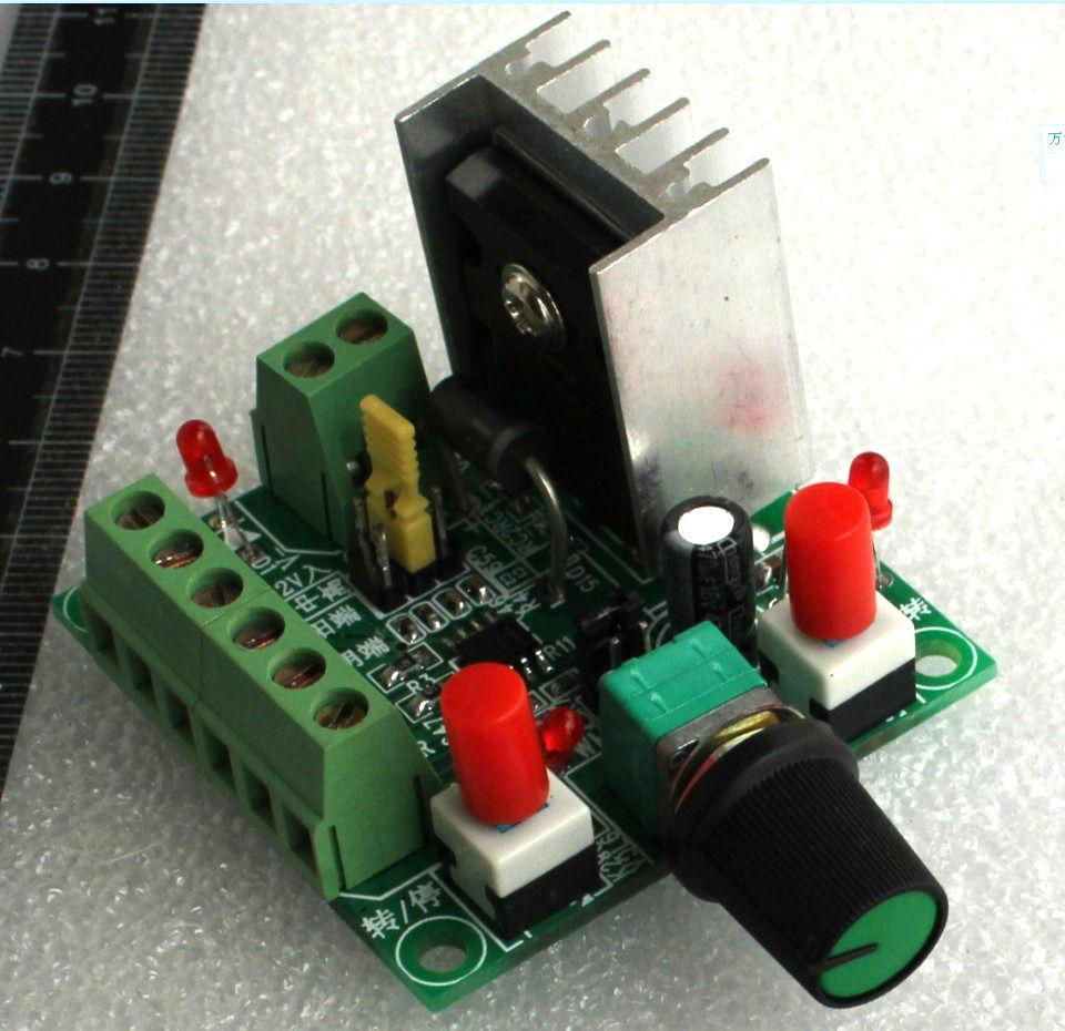Freeshipping Pulse Signal Generator * Stepper Motor Speed Regulator Controller *PWM controller M Driver / speed reversing control