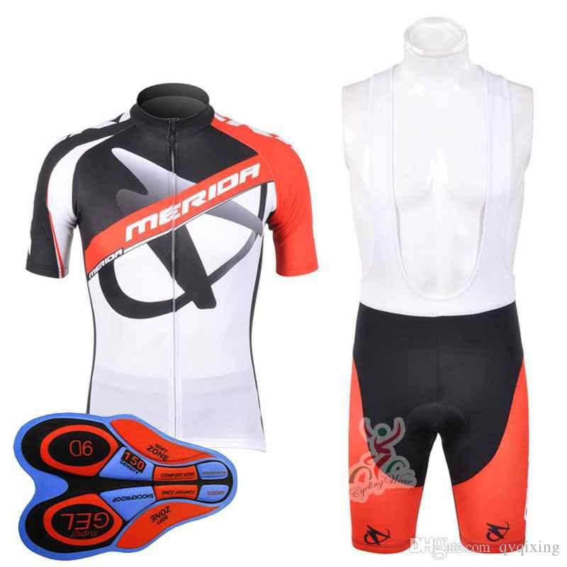 da30b379c Satın Al MERIDA 2018 Pro Takım Bisiklet Jersey Ropa Ciclismo Yol Bisikleti  Yarış Giyim Bisiklet Giyim Yaz Kısa Kollu Sürme Gömlek 91412J