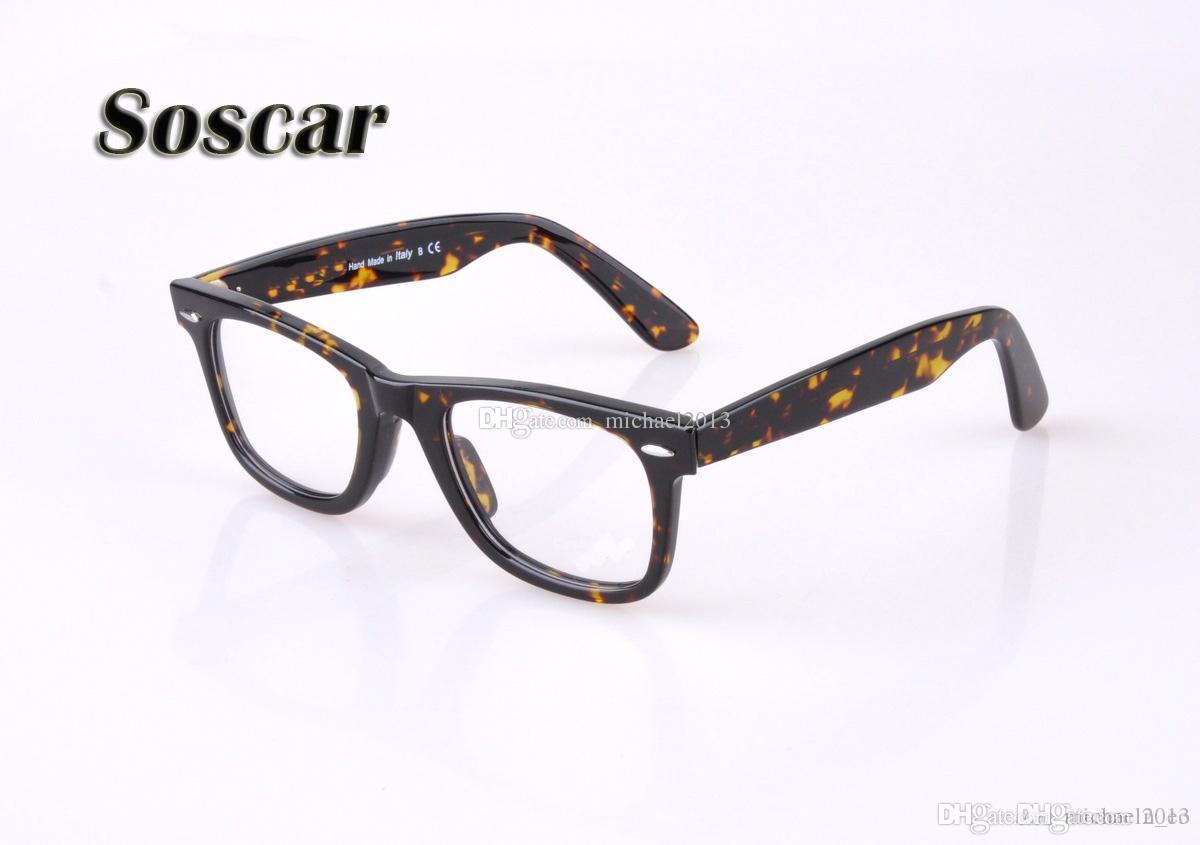 2c36c761ae Soscar 5121 Myopia Frame Brand Design Eyeglass for Men Women High ...