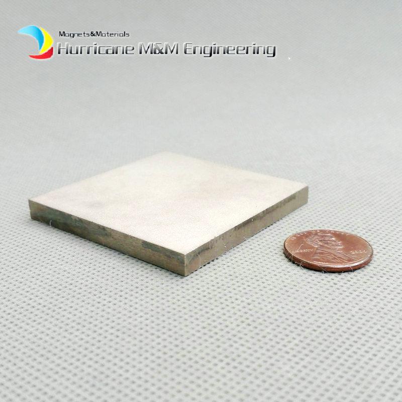 1 pack SmCo Magnetblock 50x50x5 mm 2
