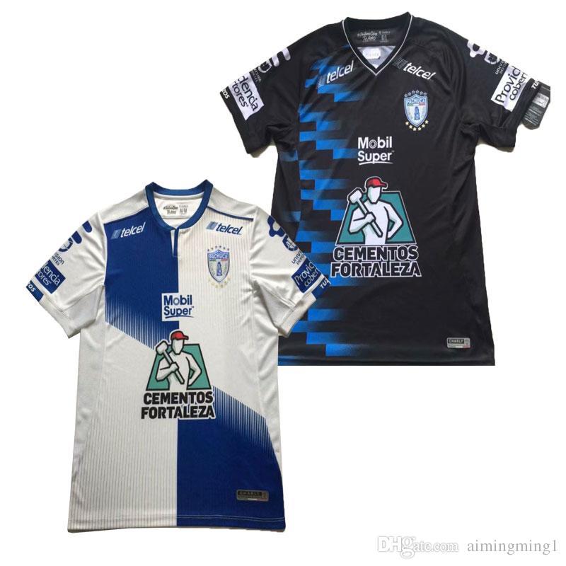 2018 2019 Manga Liga LIGA MX Camiseta De Fútbol Club Pachuca 18 19 MANII  GARCIA JARA KSK Camiseta De Fútbol Pachuca Tallas  S 2XL Por Aimingming1 25db5bdfc9bd4