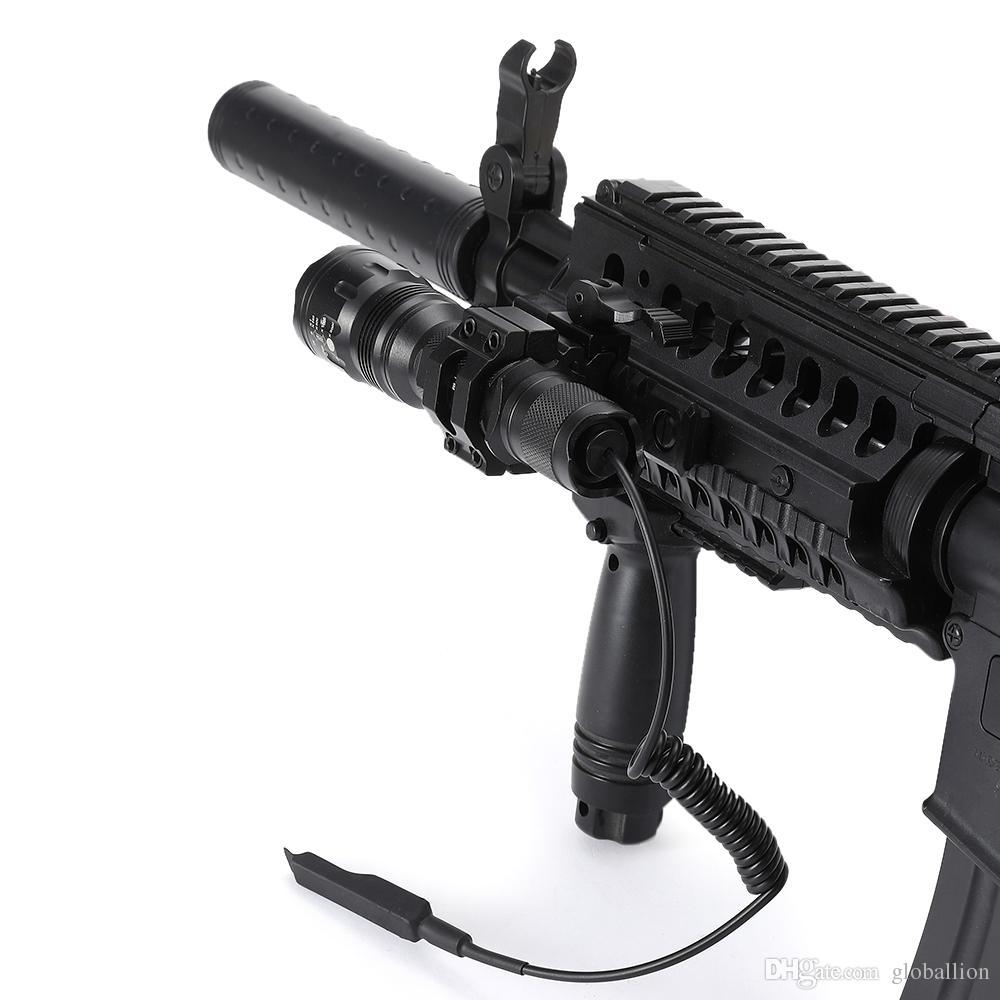 AloneFire TK104 XM- L2 LED Tactical flashlight Zoom Aluminum Led Flashlight torch For Hunting 1x 18650 battery