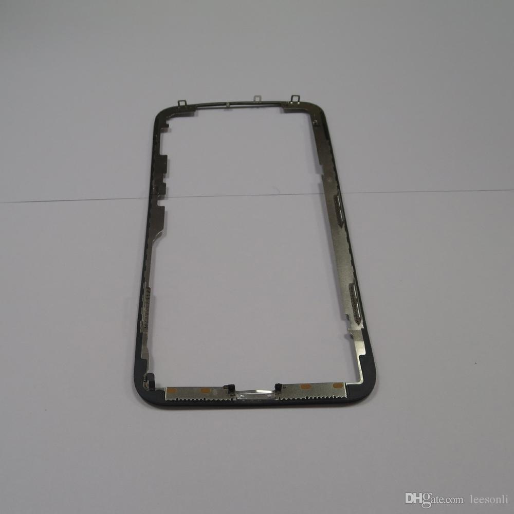 """Bezel Frame For Apple iPhone X Front Glass 5.8"""" Touch Screen Lens Outer Panel Cover LCD Display Repair Part"""