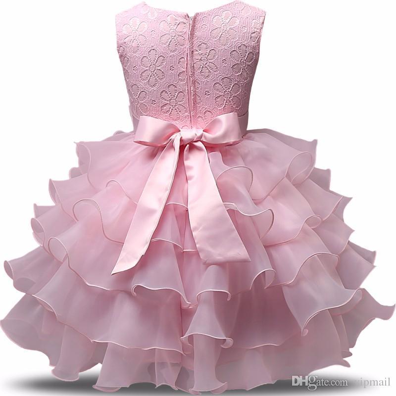 77dc6dcdda8e2 Acheter Mode Filles De Mariage Princesse Robe D hiver Robe De Boule  Formelle Boule De Fleur Enfants Vêtements Enfants Vêtements Robe De Fille  De Fête À 2018 ...