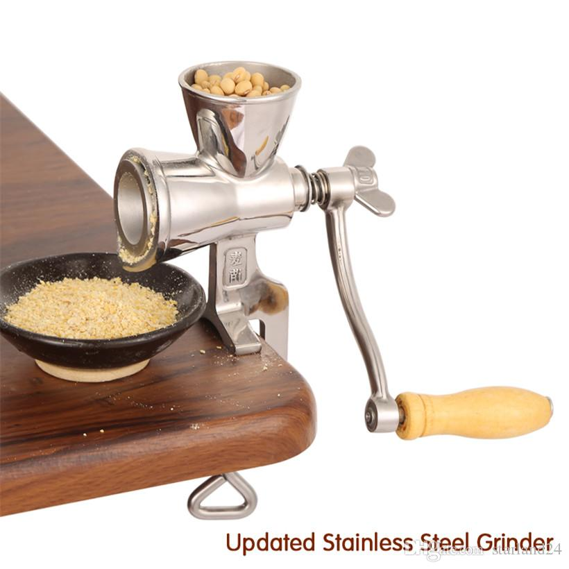 Upgraded Coffee Bean Grinding Machine Manual Stainless Steel Sesame