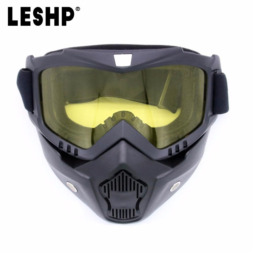 8b5e3f2a771 LESHP Skiing Glasses Completely Framed Mask Cycling Glasses ...