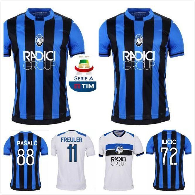 ee070e2ba ... italy 2018 2019 new italy atalanta b.c. jerseys 18 19 atalanta home  away gomez gosens soccer