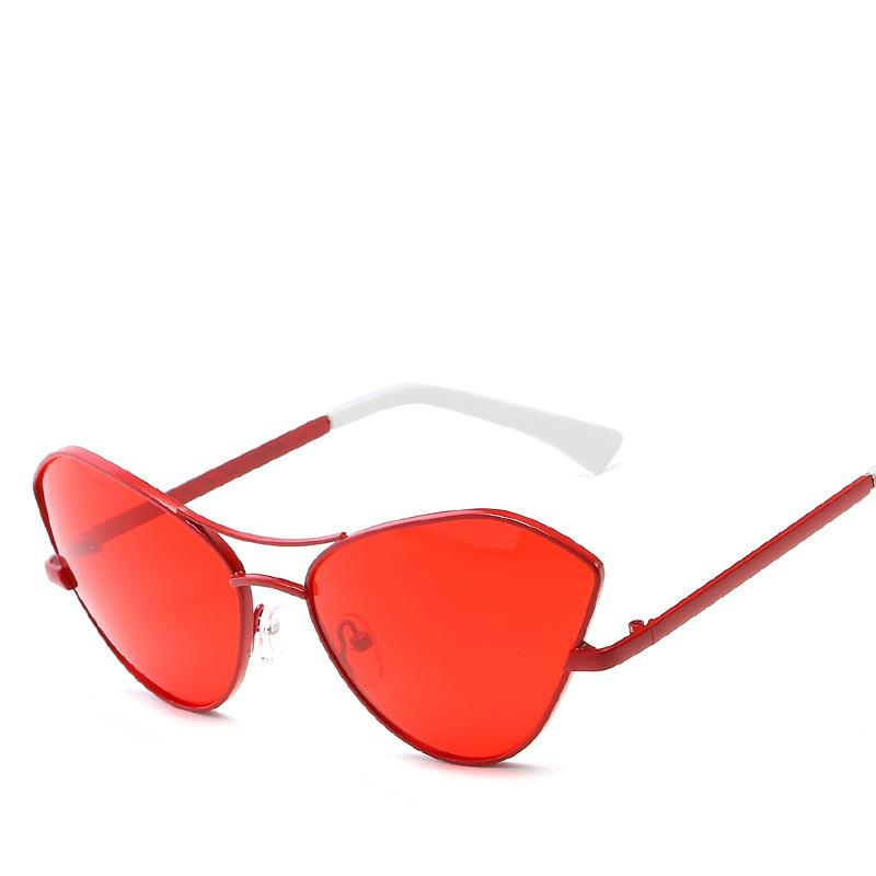 6f541b6db22 Cat 3 Uv400 Sunglasses Anti-reflection Women Newest Vintage Cateye Brand  Designer Sun Glasses Oculos De Sol UV400 AA76 Anti-reflection Cat 3 Uv400  ...