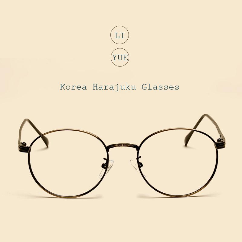 Großhandel Liyue Vintage Runde Brille Optische Klare Brillen Frauen ...