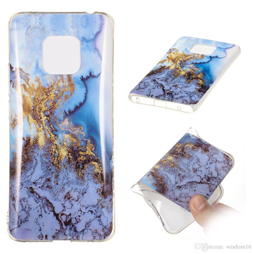low priced ed8e5 bc472 New Hot Seller Classic Colorful Marble Phone Case Granite Marble Texture  Phone Soft TPU Back Cover Phone Case For Huawei Mate 20 Pro