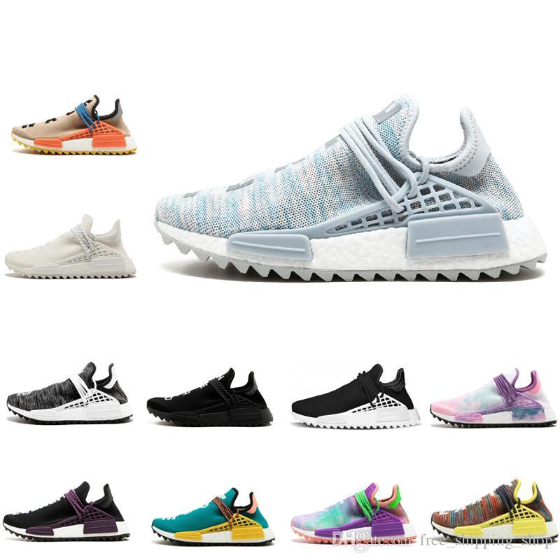Unisex NMD Human Race BBC Männer Trainer Schuhe Frauen Sonne Glanz Colette Nobel Tinte Holi blass nackt Lauf Chaussures versandkostenfrei Schuhe