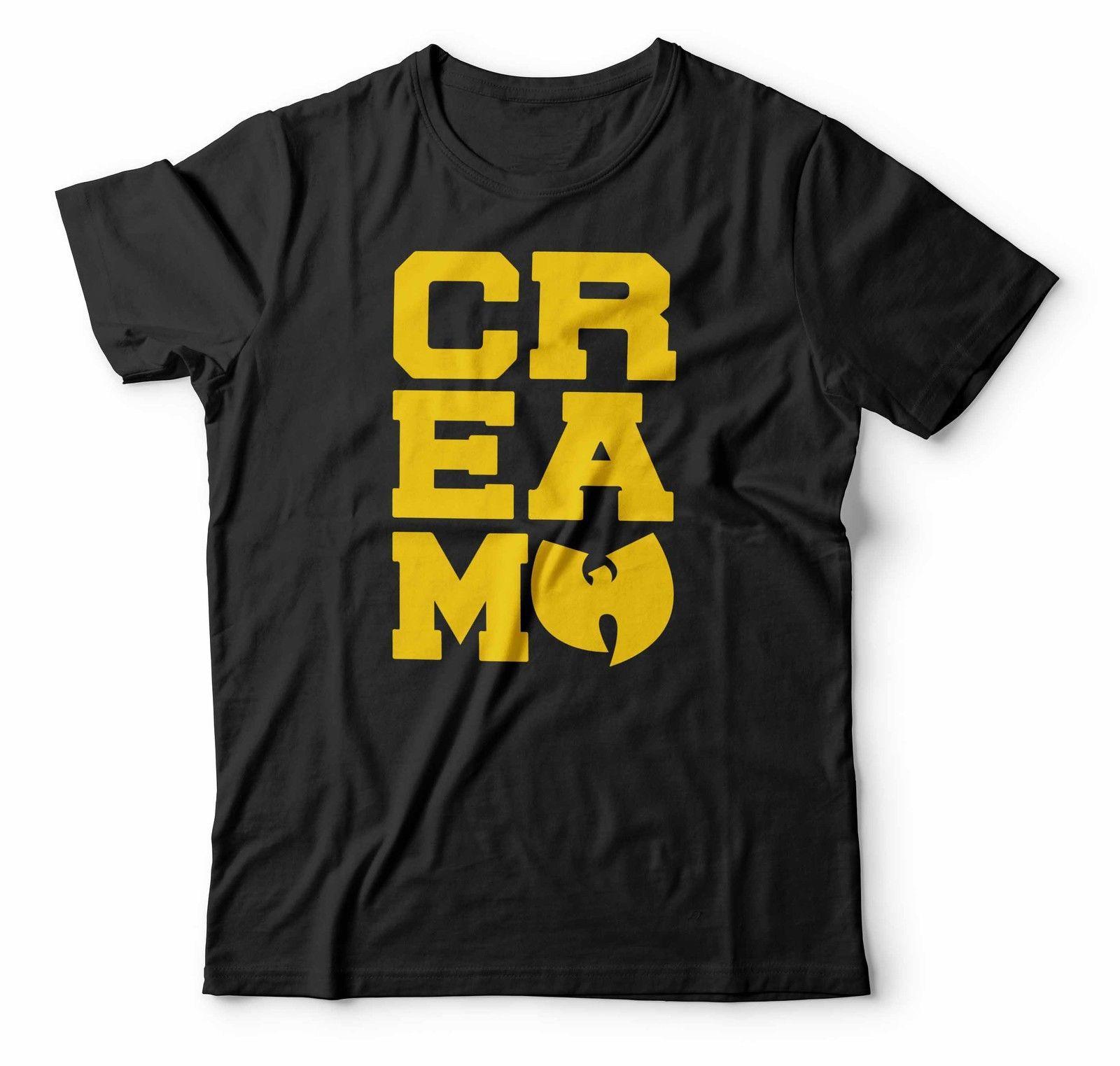 d7e5c3d34bcc1 Compre Wu Tang Clan Camiseta RZA GZA ODB Método Rap Tee CREMA Reglas De  Efectivo Hombres Hip Hop O Cuello Moda Impreso Para Hombre Camiseta De  Algodón A ...